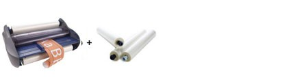 GBC Pinnacle 27 EZLoad Roll Laminator Package 1