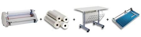 TCC 2700 Roll Laminator Package 3