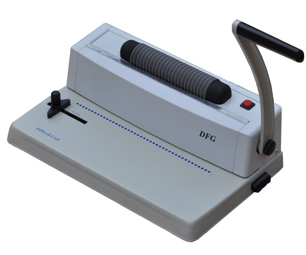 What tool or machine is used to make holes in paper for ... |Coil Binding Machine