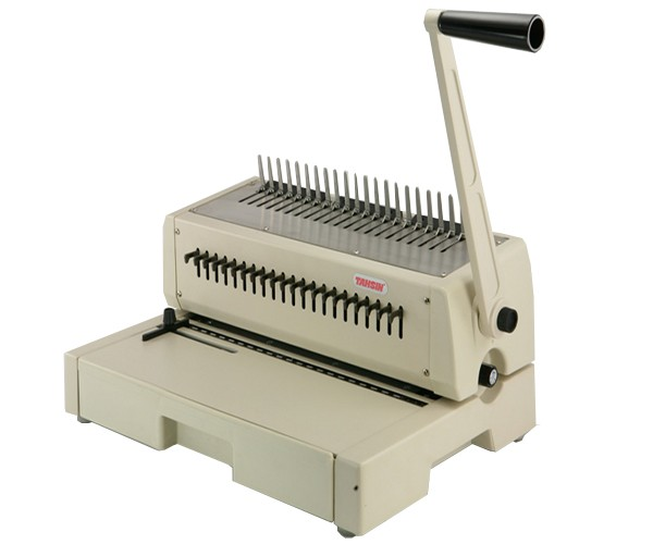 Tamerica Tahsin 210pb Plastic  b Binding Machine on coil binding machine