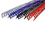 "Twin Loop Wire Binding Spines - 7/8"" - 2:1 Pitch L2"