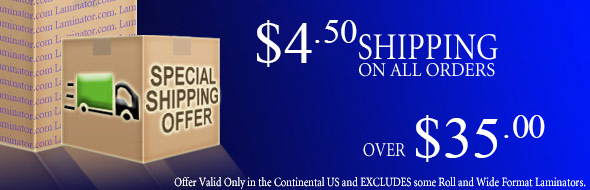 Binding Covers, Machines, and Supplies Shipping Promotion